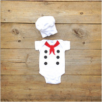 Little Chef Baby Costume, Baby French Chef Onesuit
