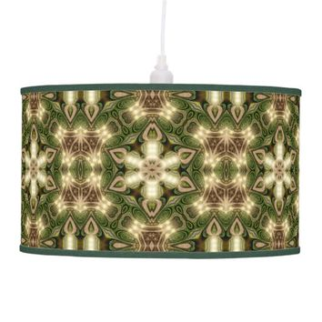 Batik Forest Geometry Table / Hanging Lamp Shade
