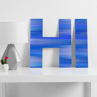 Lisa Argyropoulos Whispered Sky Decorative Letters