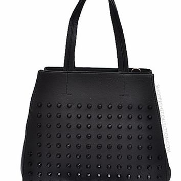 ROCK STAR STUDDED TOTE
