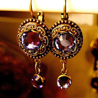 NEO VICTORIAN Crystal Earrings