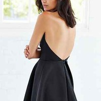 Keepsake Chained Halter Fit + Flare Dress - Urban Outfitters