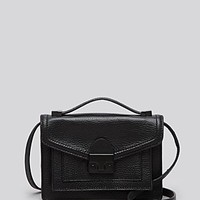 Loeffler Randall Crossbody - Pebbled Tumbled Luxe Leather Mini Rider