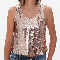 Double Zero Chiffon Tank Top