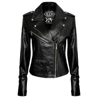 Studded Leather Jacket [B] | KILLSTAR