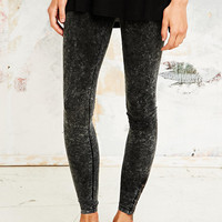 Sparkle & Fade Acid Wash Leggings in Black - Urban Outfitters