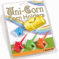 Unicorn Corn Holders by GAMA-GO