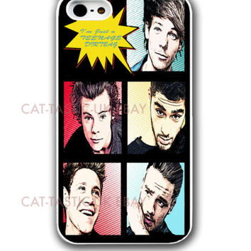 One Direction Teenage Dirtbag Comic Print iPhone case cover 4,4s, 5,5C 5s 1D