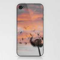 And the days went by iPhone & iPod Skin by Skye Zambrana | Society6