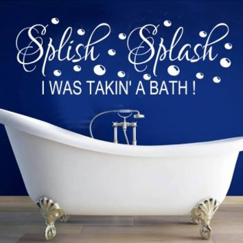 splish splash 2 - G Direct Wall Stickers