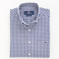 Harbor Lights Gingham Tucker Shirt