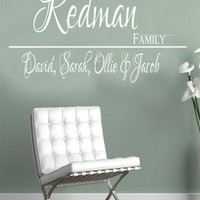 custom family - G Direct Wall Stickers