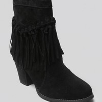 Sound Suede Booties