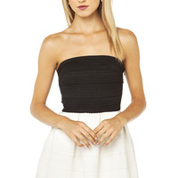 Two Toned Strapless Bandage Dress