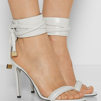 Jason Wu Leather sandals – 50% at THE OUTNET.COM