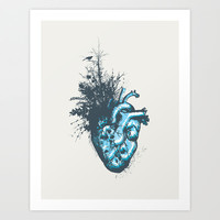 My Heart Grows Art Print by Tracie Andrews