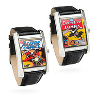 Retro DC Comic Book Watches -