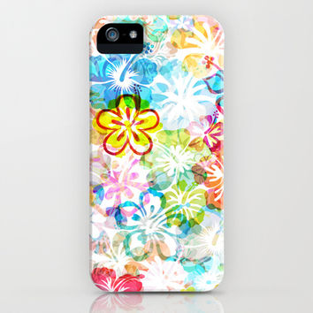 Flowers iPhone & iPod Case by Fimbis