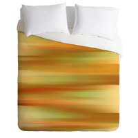 Lisa Argyropoulos Whispered Amber Duvet Cover