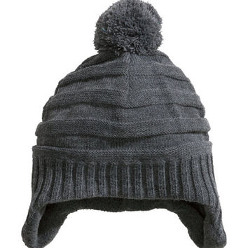 Hat with Ear Flaps - from H&M