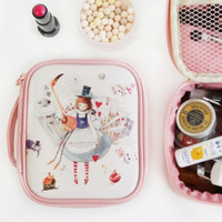 Small Alice Pink Cosmetic Pouch