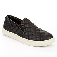 Steve Madden Ecentric Quilted Slip-On Flats Accessory Shoes ECENTRCQ at BareNecessities.com