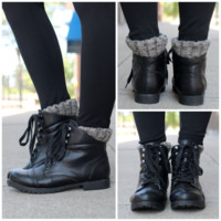 Well Traveled Bootie - Black - BLACK /