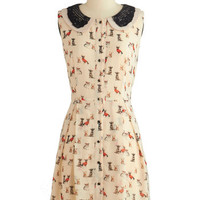 Paws and Poise Dress