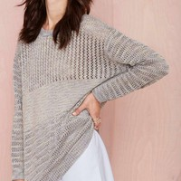 Nasty Gal Wicked Stitch Sweater