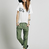 NSF Womens Edith Washed Trouser - Viet Green,
