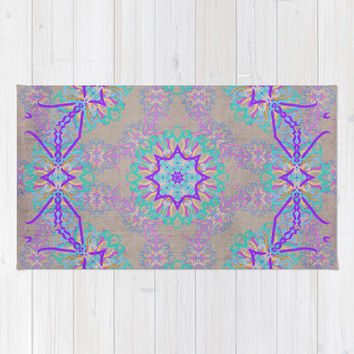 Dancer 3 Area & Throw Rug by Lisa Argyropoulos | Society6