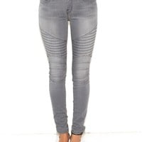 Current Elliott Moto Ankle Skinny in Briggs | Boutique To You