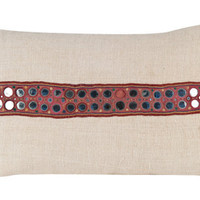 INDIAN GYPSY PILLOW - LARGE | pillows & textiles | FLEA | Jayson Home & Garden