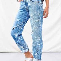 Totally Blown Bleach Splatter Jean - Urban Outfitters