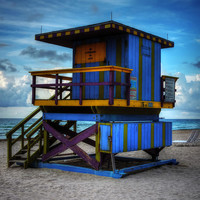 Miami - South Beach Lifeguard Stand 002