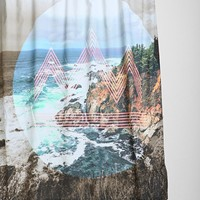4040 Locust Pacifico Shower Curtain - Urban Outfitters