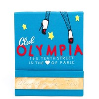 OLYMPIA LE-TAN | Club Olympia Matchbook Clutch | Browns fashion & designer clothes & clothing