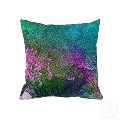 Cherry Orchard Pillow from Zazzle.com