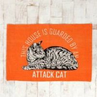 Attack Cat Rug