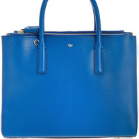 Anya Hindmarch | Ebury textured-leather tote | NET-A-PORTER.COM