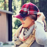 The Fireside Plaid Hat - Plaid