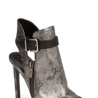 BCBGeneration 'Chandler' Peep Toe Leather Bootie (Women) | Nordstrom