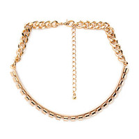 Notched Chain Choker