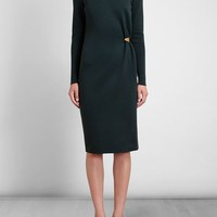 Lanvin Cotton Dress With Gold Clip - Browns - Farfetch.com