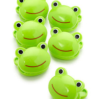 Frog Shaped Bag Clip Set