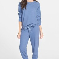 PJ Salvage Brushed Thermal Pajamas | Nordstrom