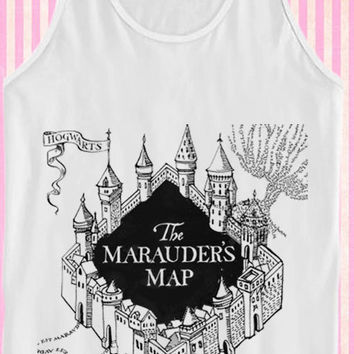 The Marauder's Map for Tank Top Mens and Tank Top Girls