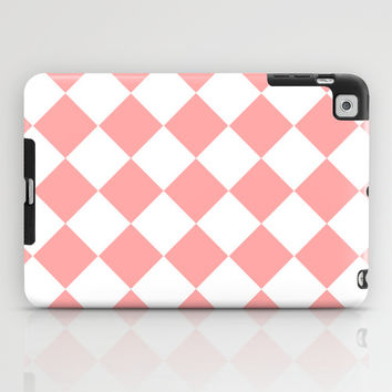 Coral Pink Diamonds iPad Case by BeautifulHomes | Society6