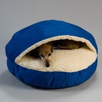 LARGE COZY CAVE ROYAL BLUE