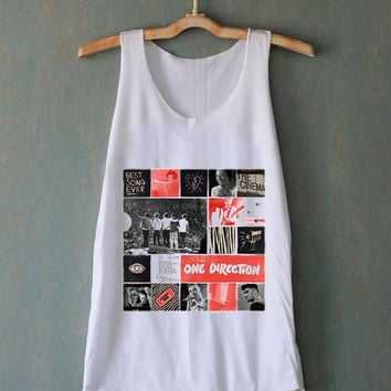 1D One Direction Pop Rock Band Culture for tank top mens and tank top girls